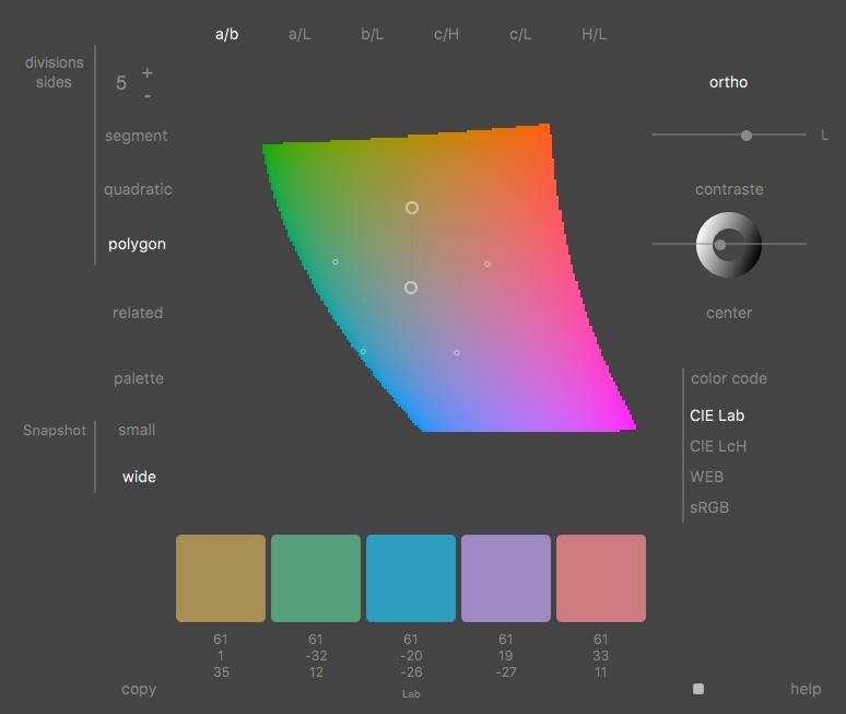 Perceptual Color Picker